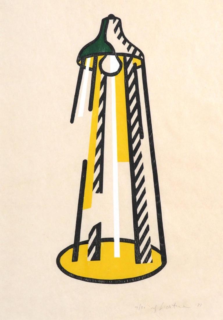 Roy Lichtenstein - Lamp