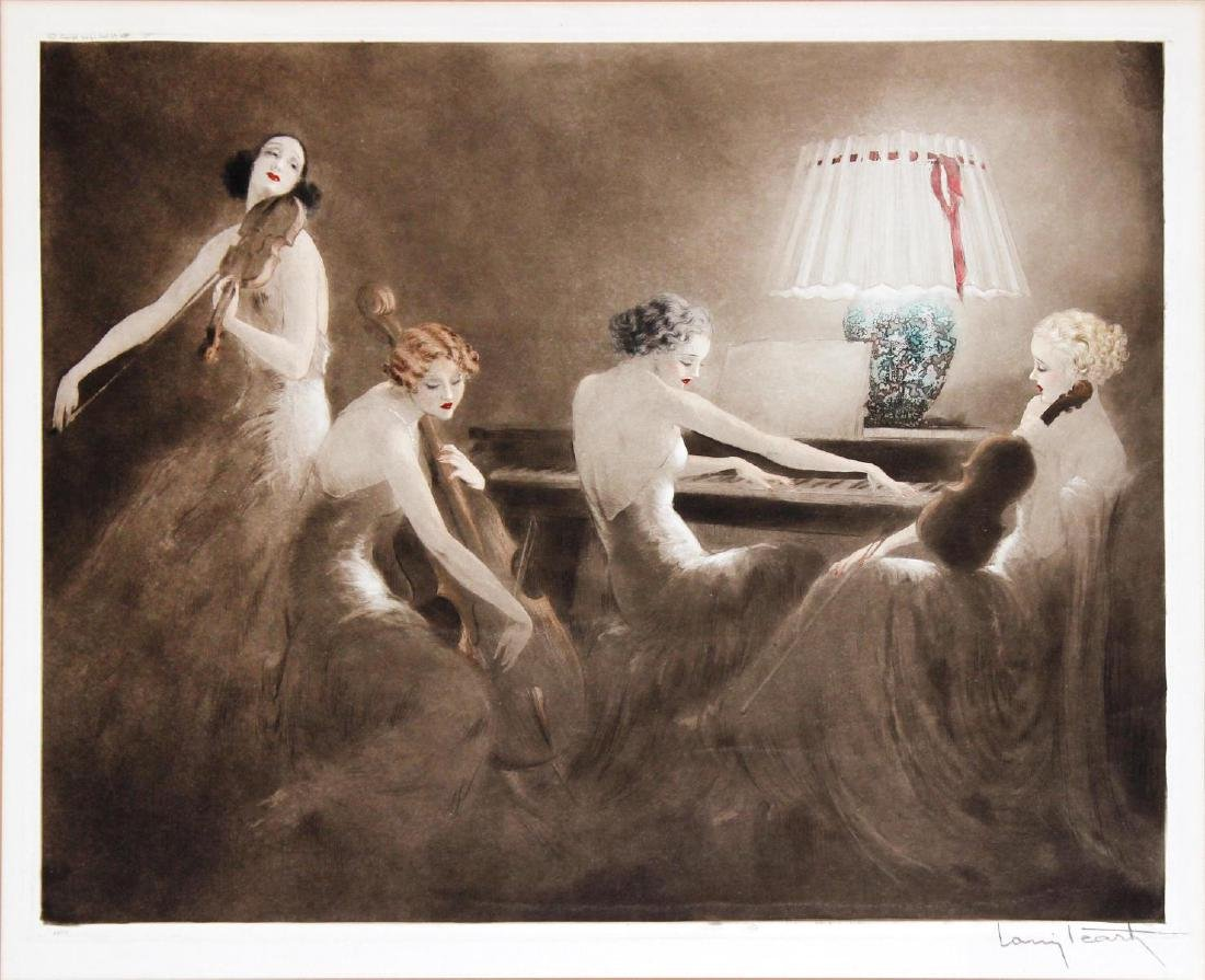 Louis Icart - Melody Hour