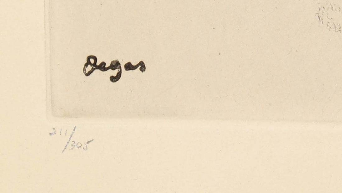 """Edgar Degas - Untitled from """"Danse Dessin"""" - 2"""