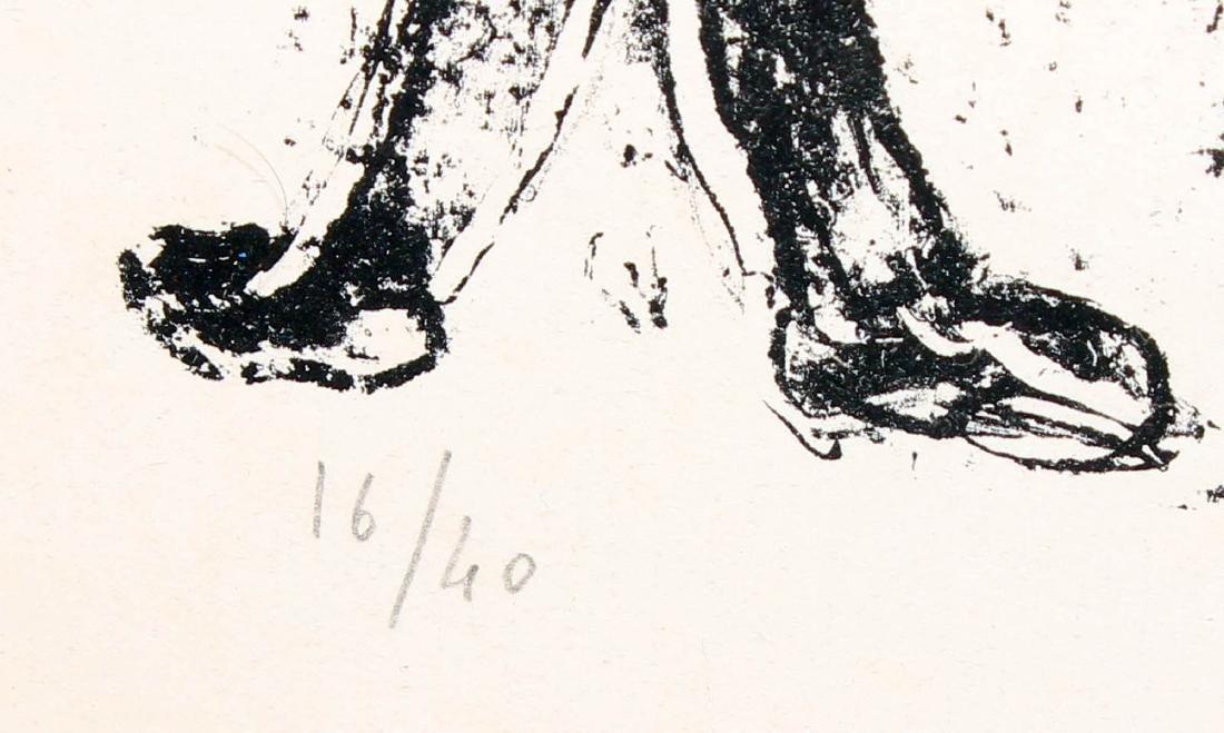 Marc Chagall - La Lune Noir - 3