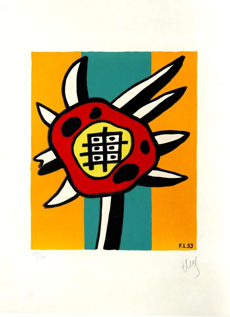 Fernand Leger - Le Tournesol (The Sunflower)