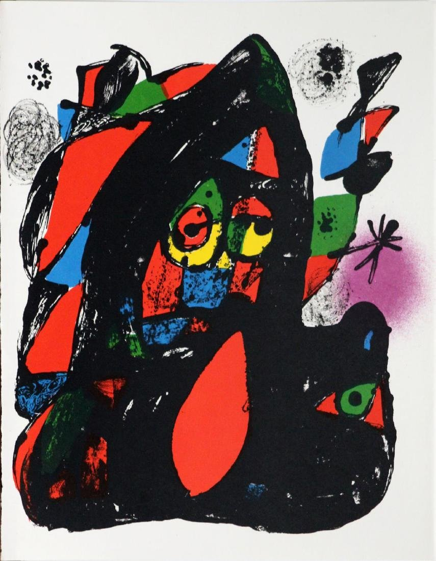 Joan Miro - Lithographie Originale IV Cover