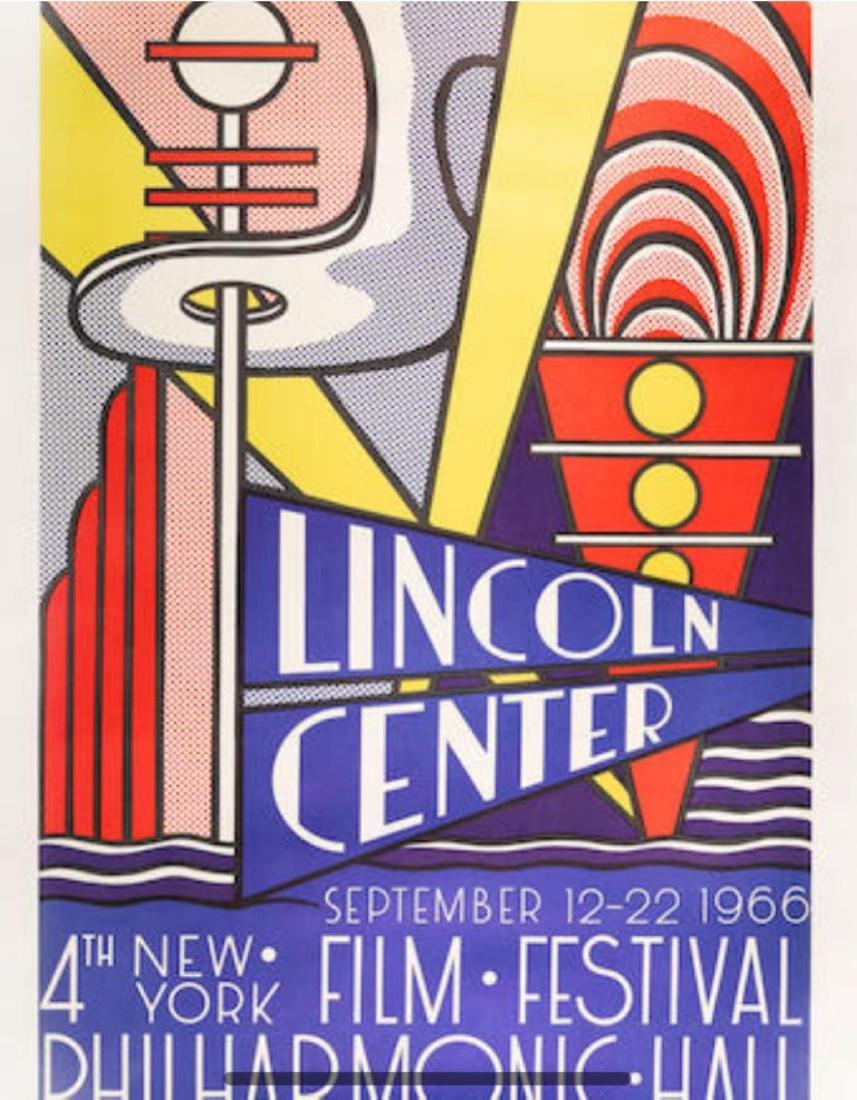 Roy Lichtenstein - Lincoln Center