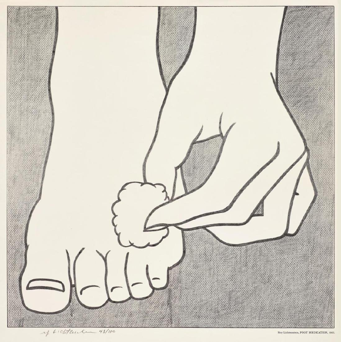 Roy Lichtenstein - Foot Medication