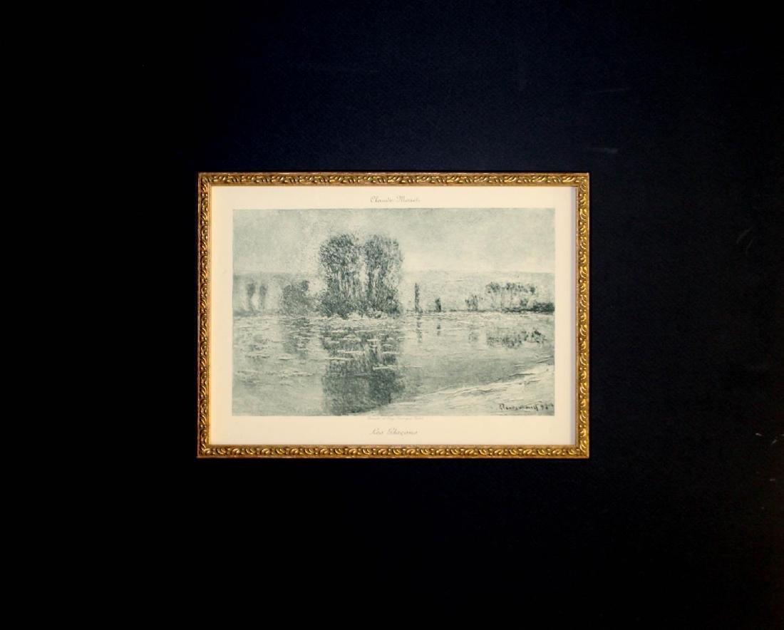 Claude Monet - Les Glacons - 2