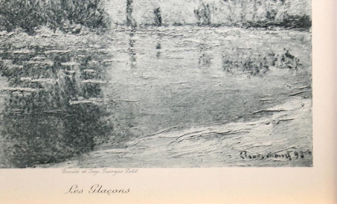 Claude Monet - Les Glacons - 3