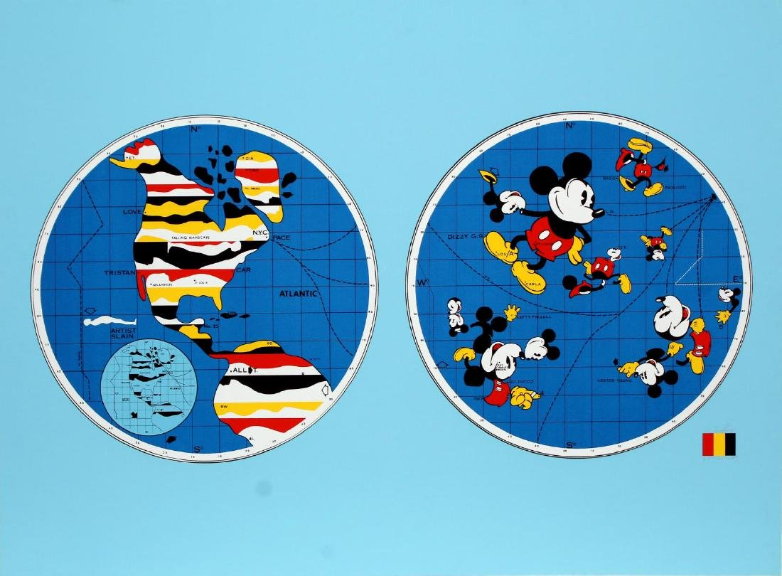 Ernesto Trova - Mickey Mouse World