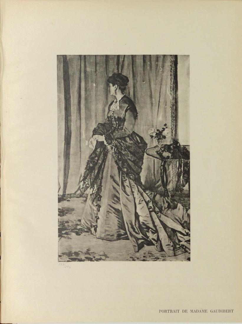 Claude Monet (After) - Portrait De Madame Gaudibert