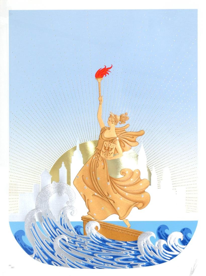 Erte - Statue of Liberty