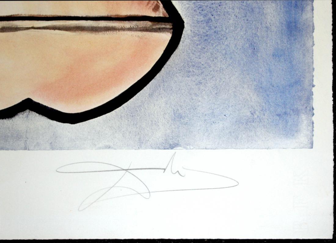 Salvador Dali - Lys (Anamorphoses) - 2