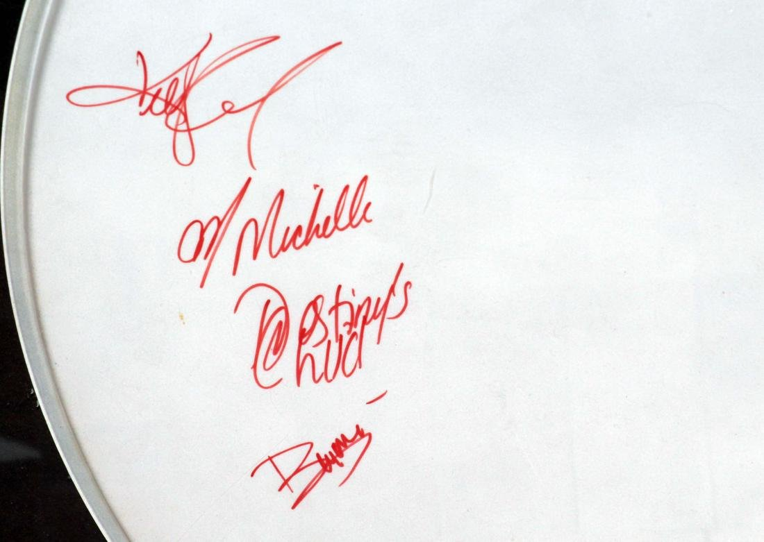 Beyonce and Destiny's Child - Signed Drum Head - 2