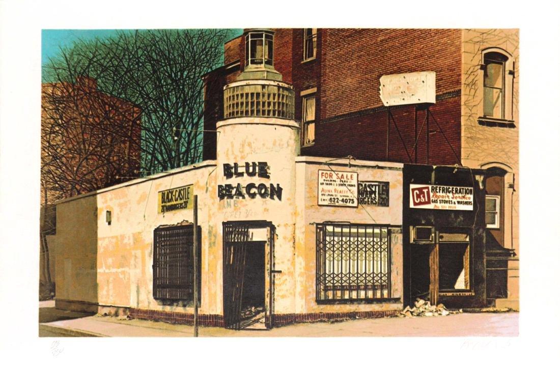 John Baeder - Blue Beacon