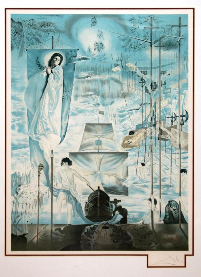 Salvador Dali (After) - The Discovery of America