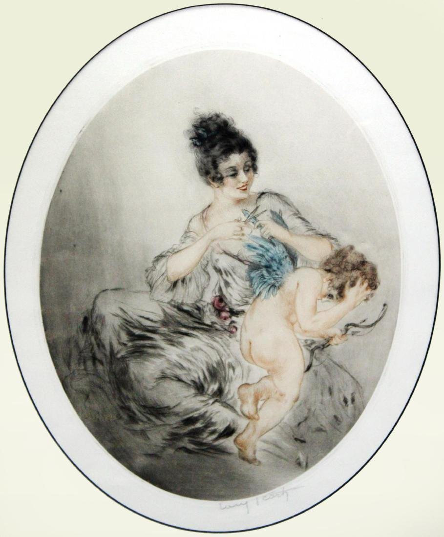 Louis Icart - Clipped Wings