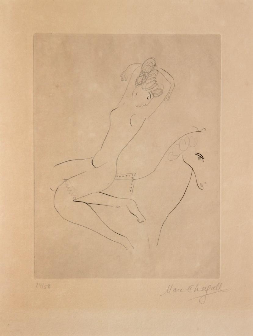 Marc Chagall - L'Ecuyere