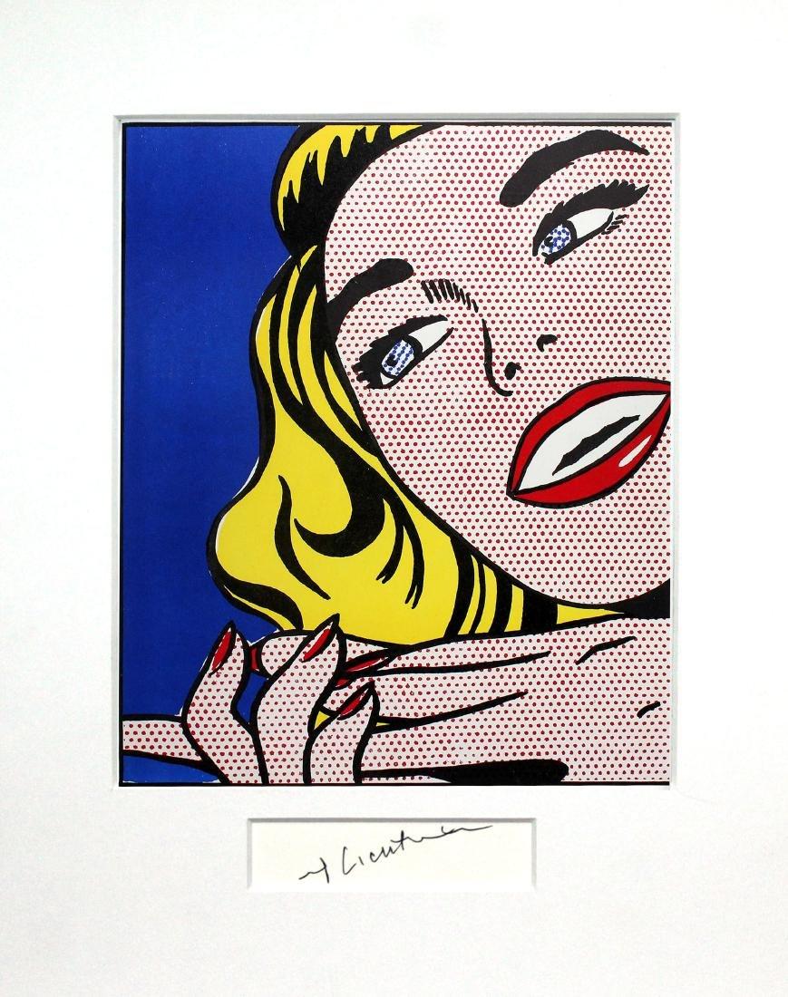 Roy Lichtenstein - Girl - 2