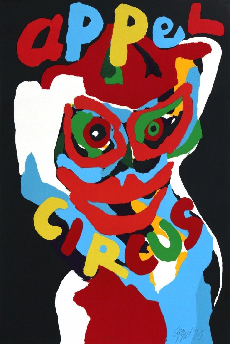 Karel Appel - Cirque