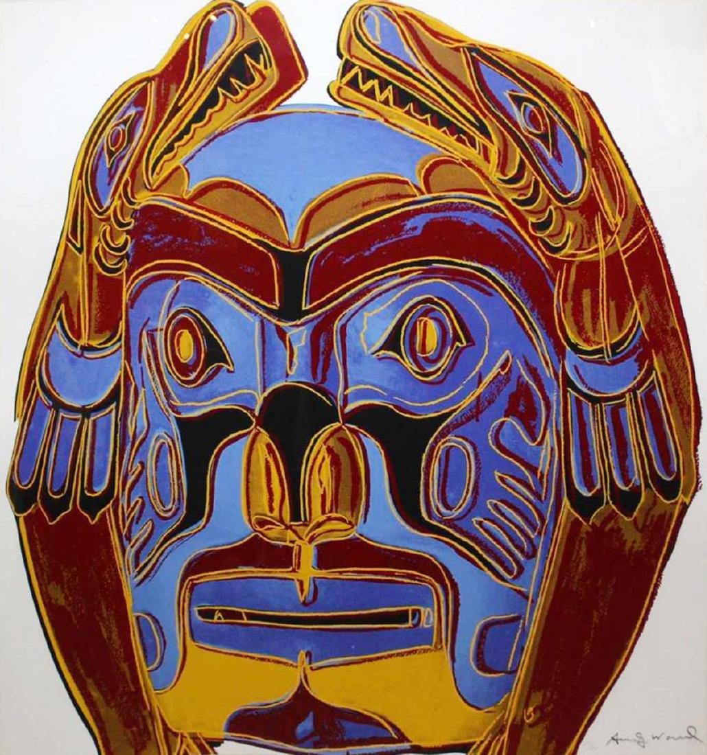 Andy Warhol - Northwest Coast Mask