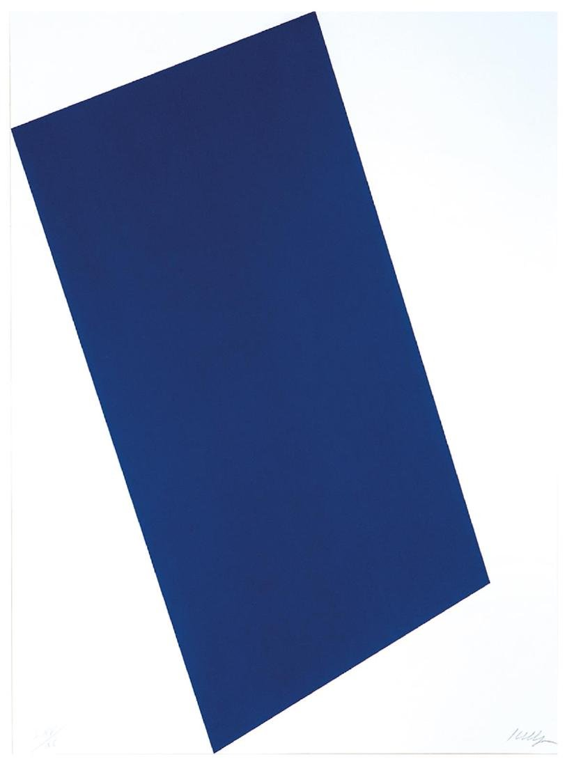 Ellsworth Kelly - Blue (for Leo)
