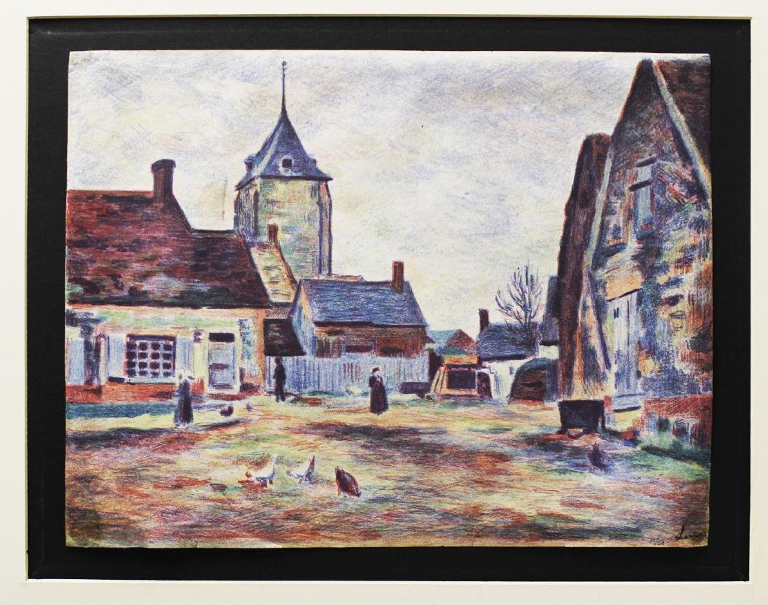 Maximilian Luce - Le Mee Eure-et Loir