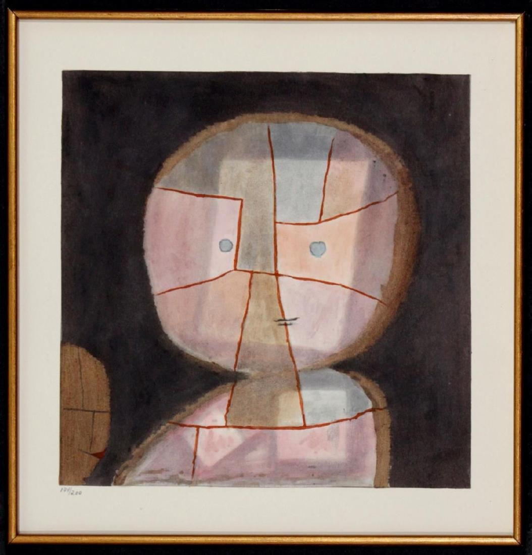Paul Klee (After)- Schwebendes (Vor Dem Anstieg)