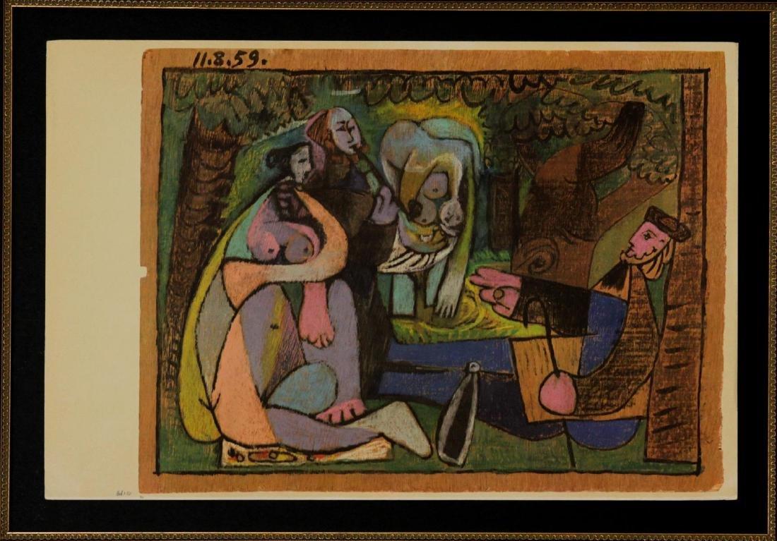 Pablo Picasso - Le Dejeuners sur l'herbe