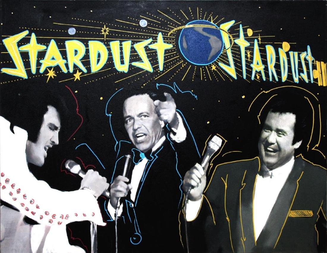 Steve Kaufman - Stardust Hotel