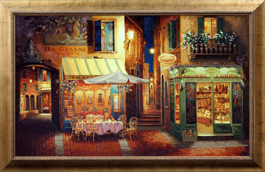 Viktor Shvaiko - Dinner in Verona