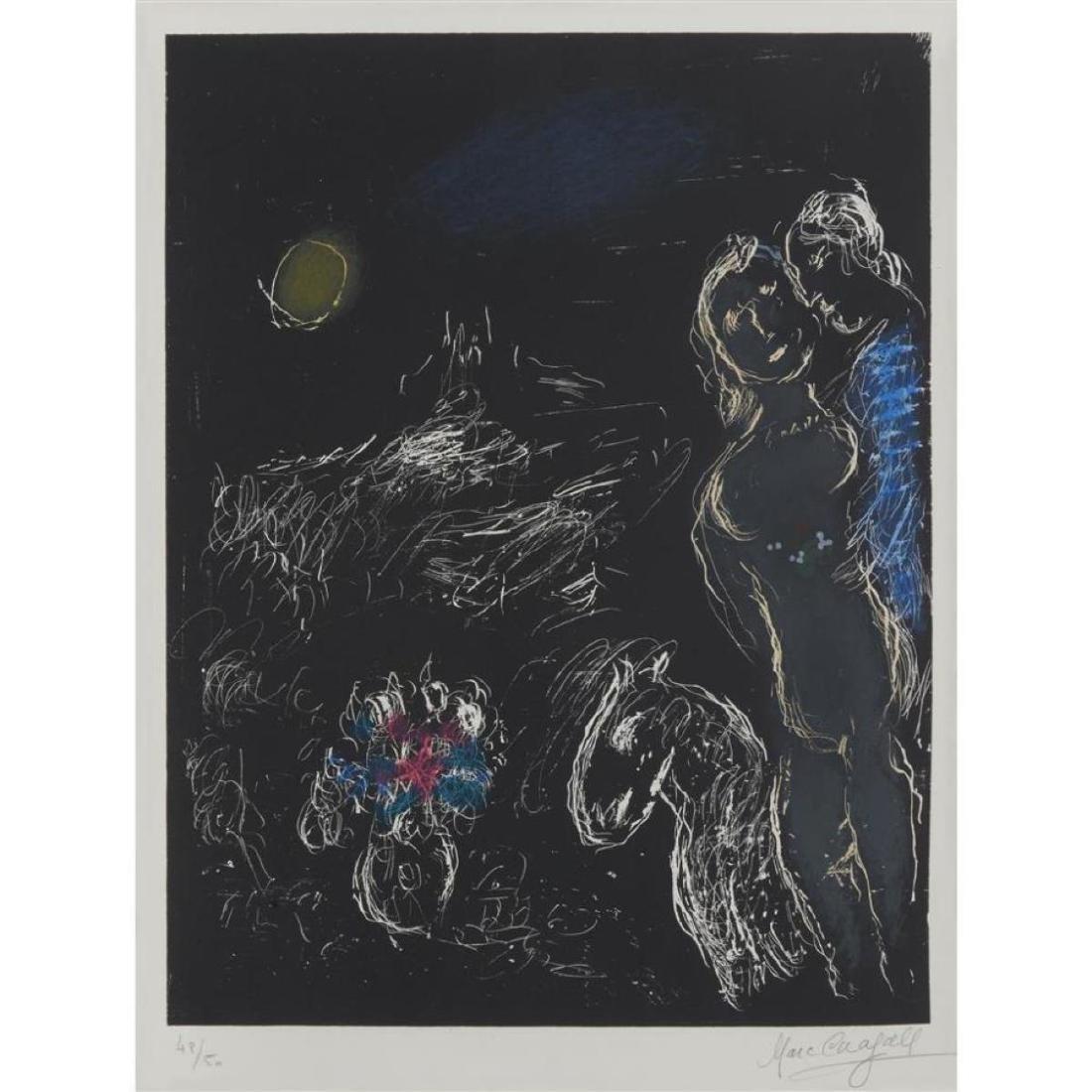 Marc Chagall - Saint-Paul at Night