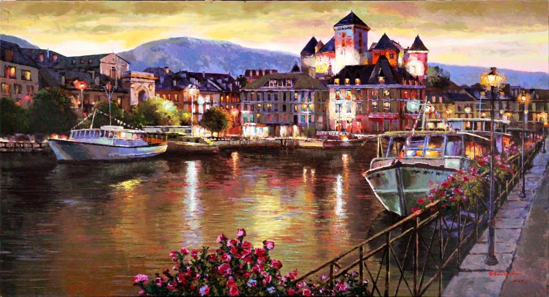Sam Park - Annecy Night