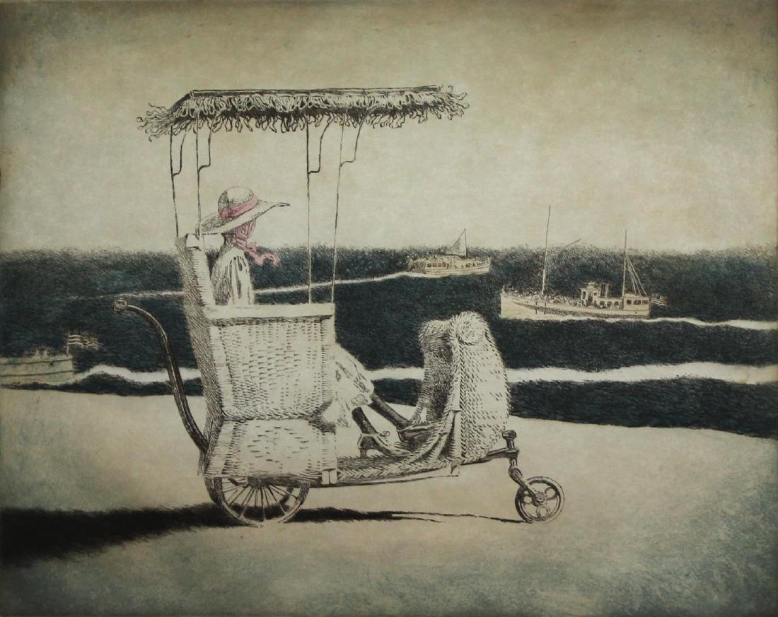 Jamie Wyeth - Atlantic City Rolling Chair