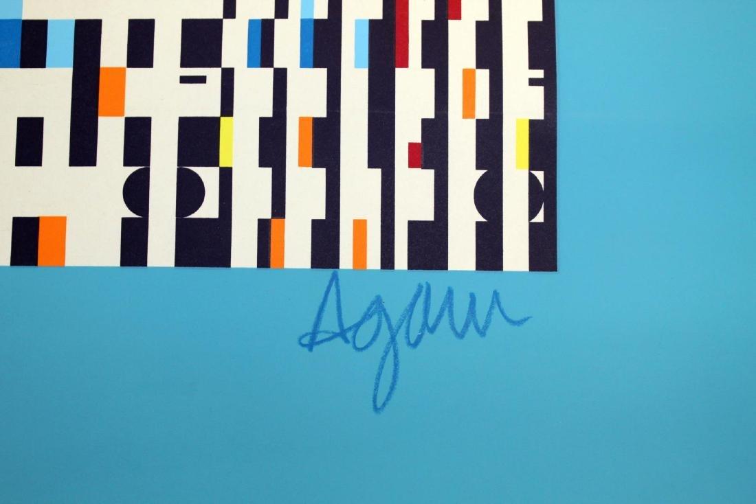 Yaacov Agam - Ser Fugue in Blue - 2