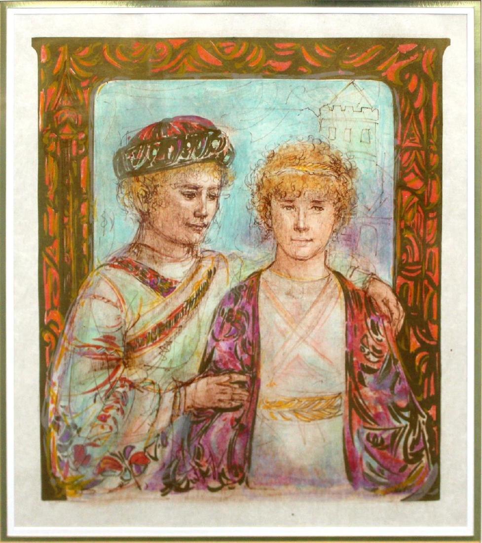 Edna Hibel - Jonathan and David