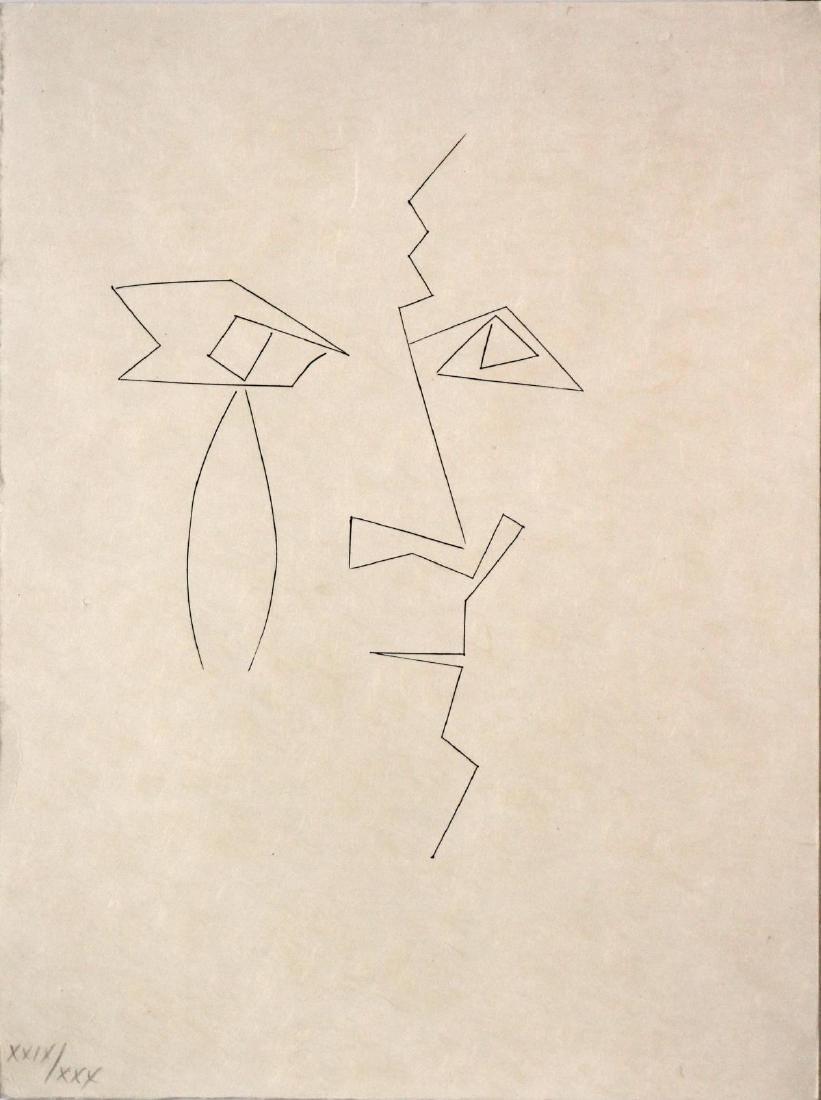 "Pablo Picasso - Untitled from the Deluxe ""Carmen"""