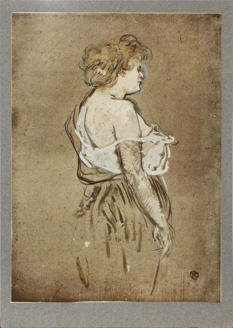 Henri Toulouse-Lautrec (After) - Madmeoiselle Lucie