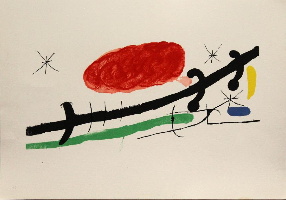 Joan Miro - Cover for Exhibition Catalogue at Sala