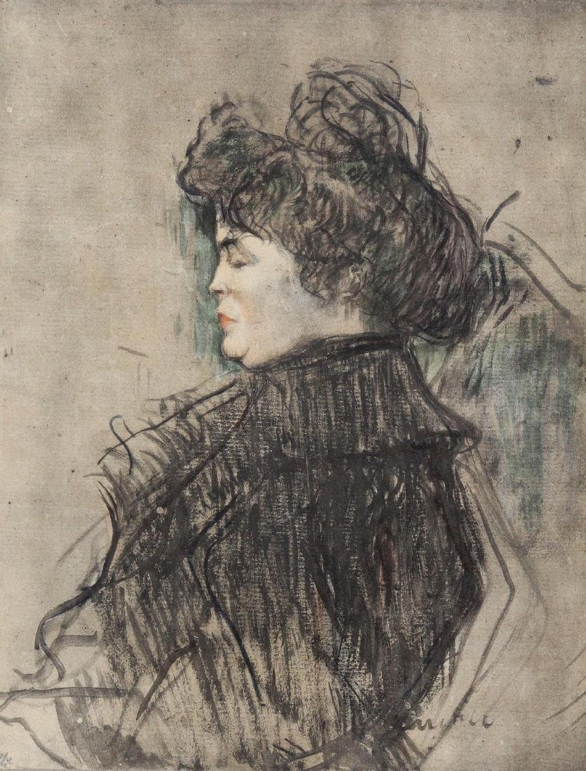 Henri Toulouse-Lautrec (After) - Madmeoiselle Andree