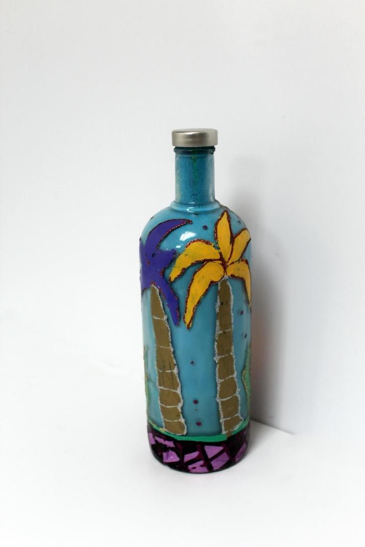 Jon Planas - Painted Absolut Vodka Bottle - 2