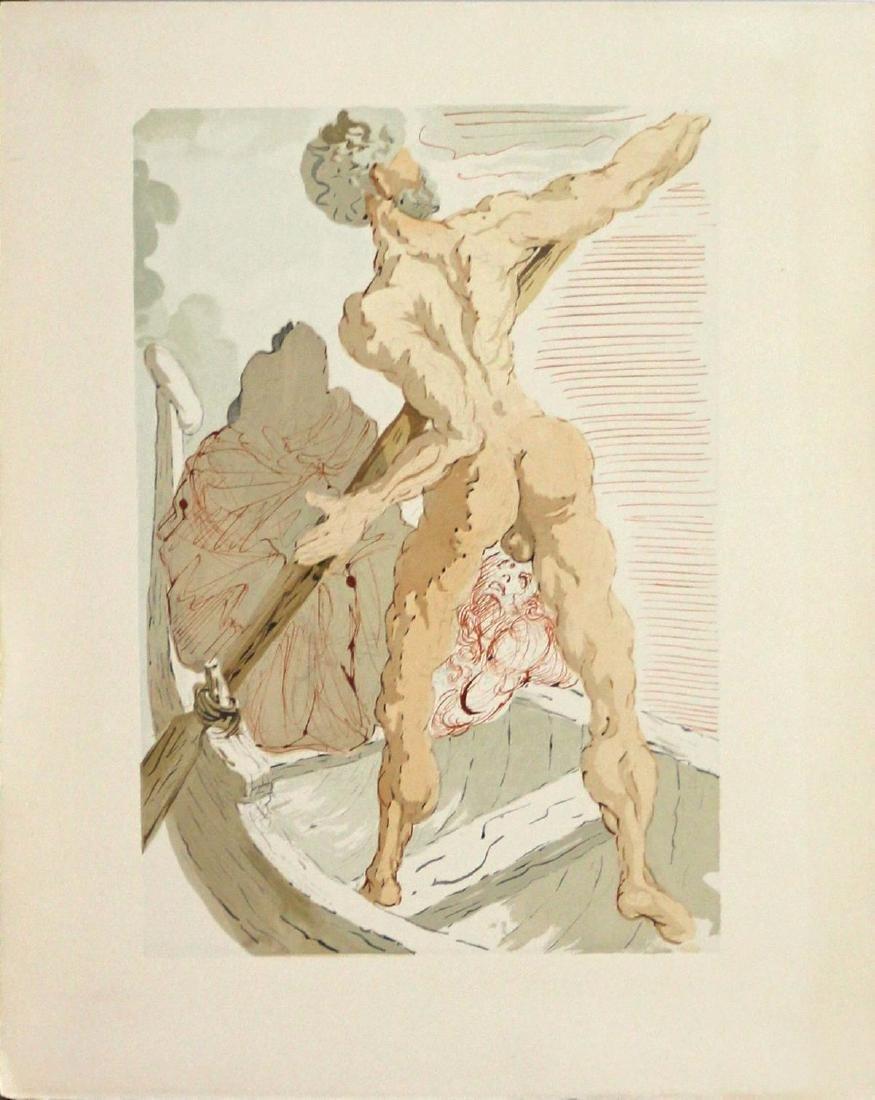 Salvador Dali - Charon and the Shore of Archeron