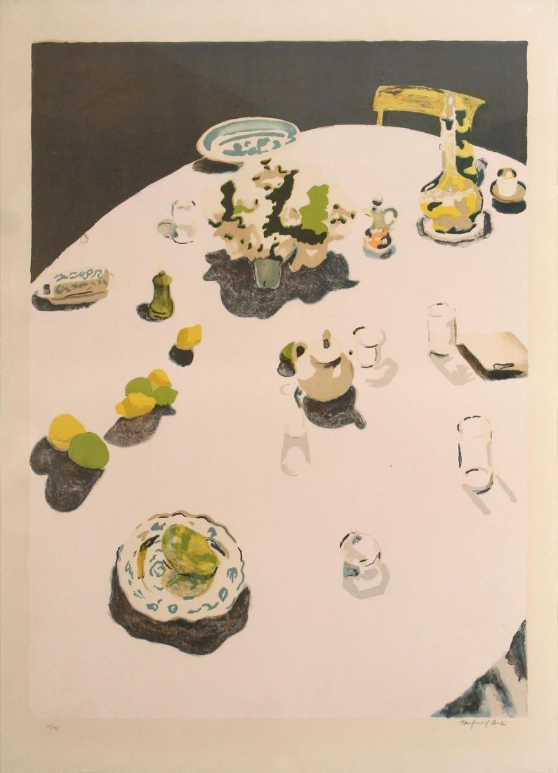 Fairfield Porter - The Table