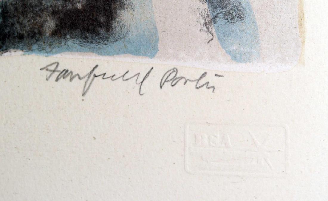 Fairfield Porter - The Table - 2