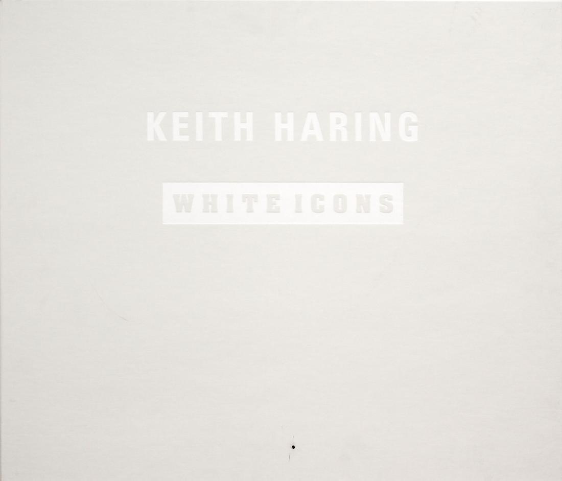 Keith Haring - White Icons Cover Portfolio and Tirage
