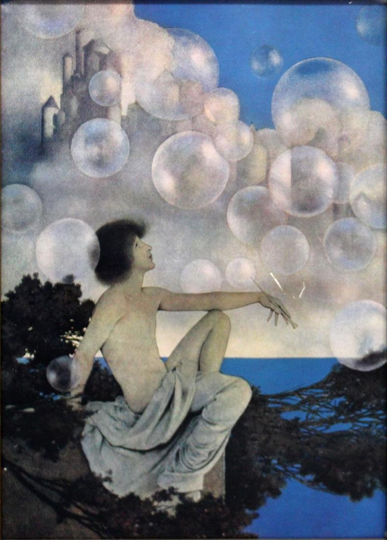 Maxfield Parrish - Air Castles (Bubbles)