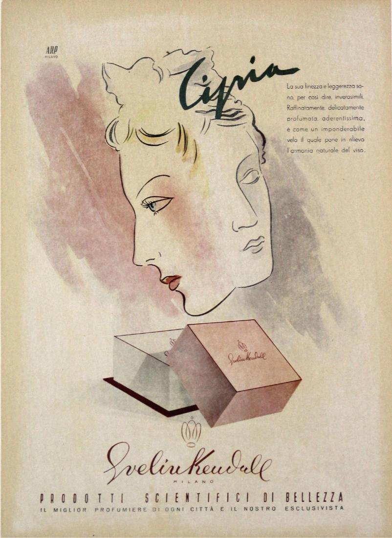 Vintage Poster - Italian Jewelry Advertisement