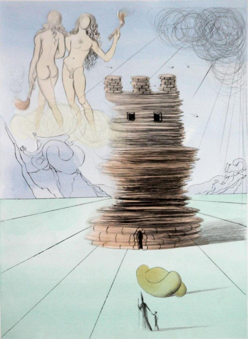 """Salvador Dali - Simon from """"The Twelve Tribes of Israel"""