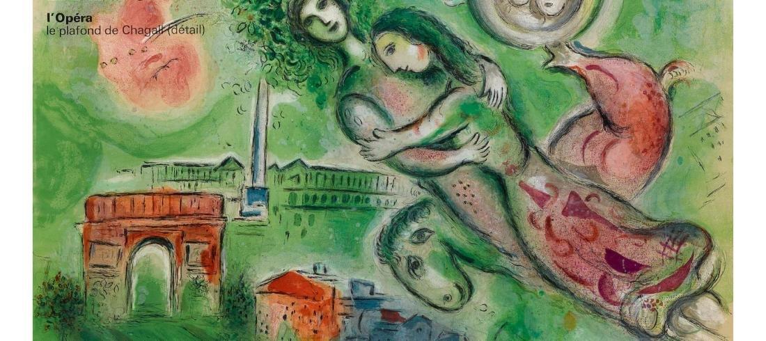 Marc Chagall (After) - Paris L'Opera