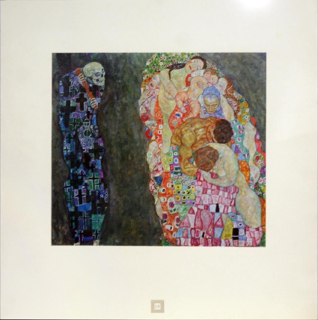 Gustav Klimt (After) - Death and Life