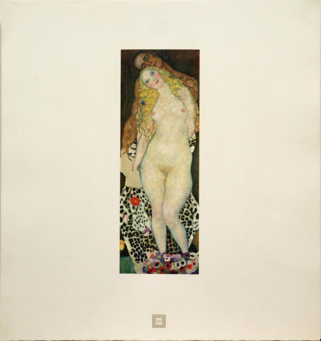 Gustav Klimt (After) - Adam and Eve
