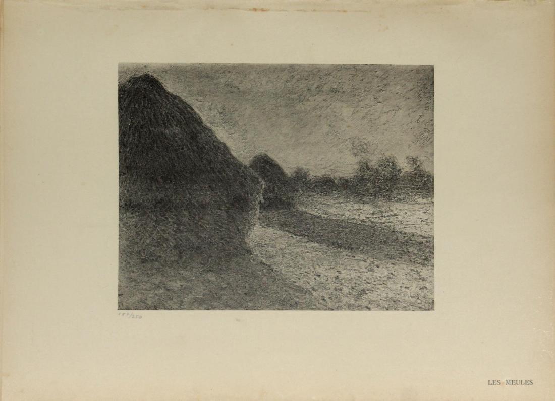 Claude Monet (After) - Les Meules