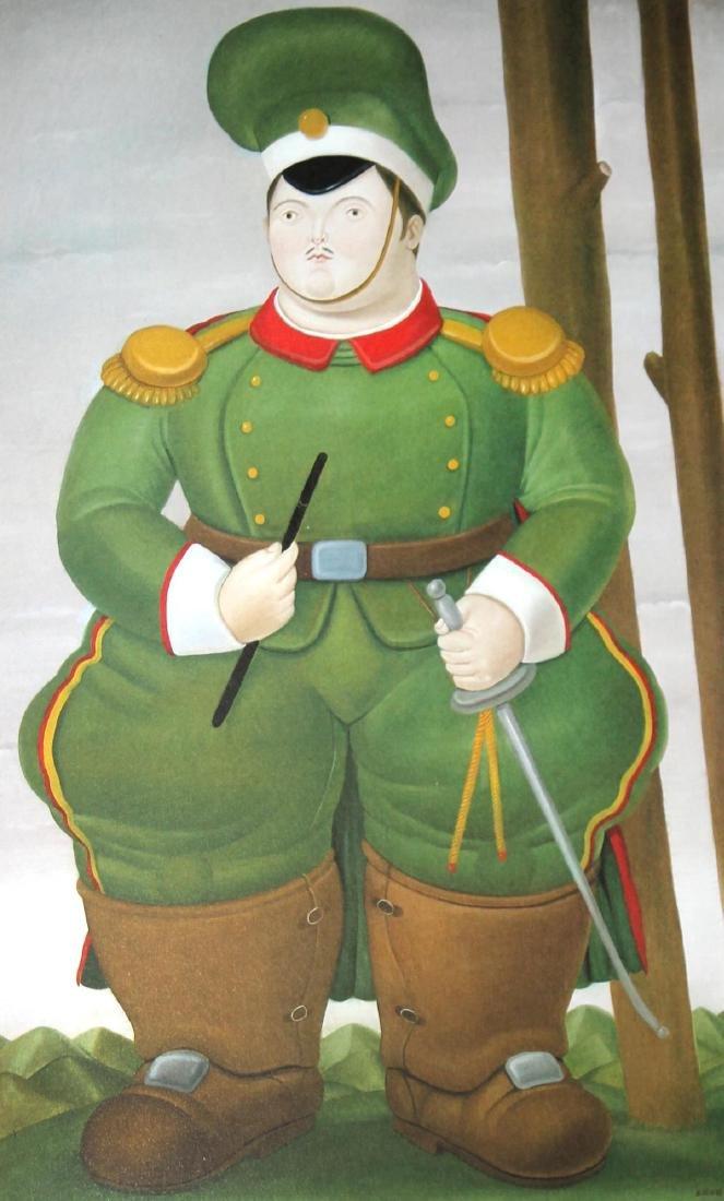Fernando Botero (after) - Field Marshall